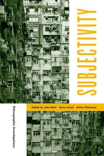 9780520247925: Subjectivity: Ethnographic Investigations