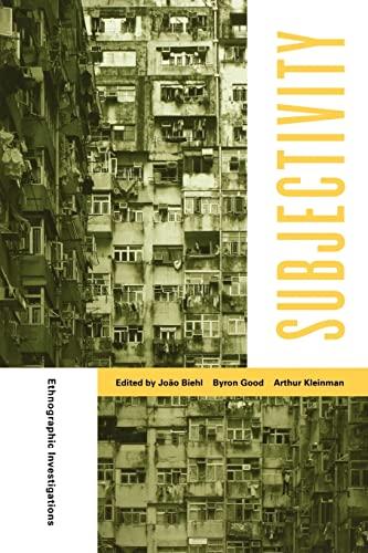 9780520247932: Subjectivity - Ethnographic Investigations