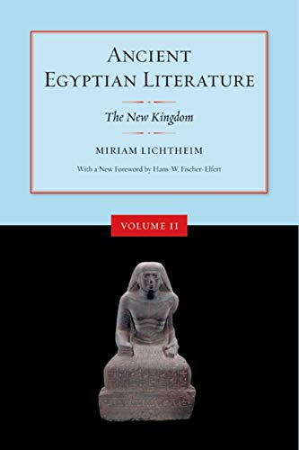 9780520248434: Ancient Egyptian Literature: Volume II: The New Kingdom