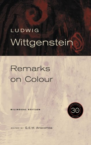 9780520251793: Remarks on Colour