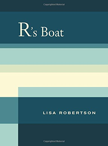9780520262409: R's Boat (New California Poetry)