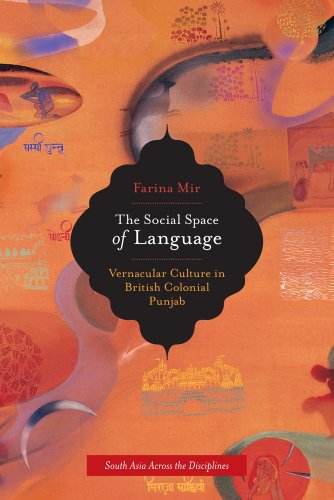 9780520262690: The Social Space of Language: Vernacular Culture in British Colonial Punjab (South Asia Across the Disciplines)