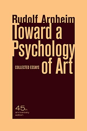 9780520266018: Toward a Psychology of Art: Collected Essays