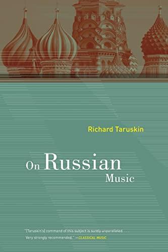 9780520268067: On Russian Music