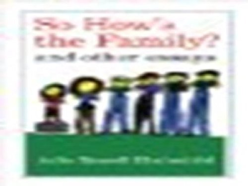 9780520272279: So How's the Family?: And Other Essays
