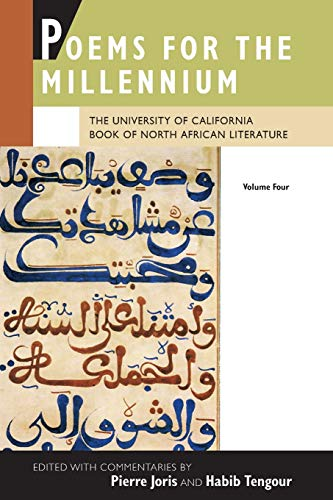 9780520273856: Poems for the Millennium: v. 4: The University of California Book of North African Literature