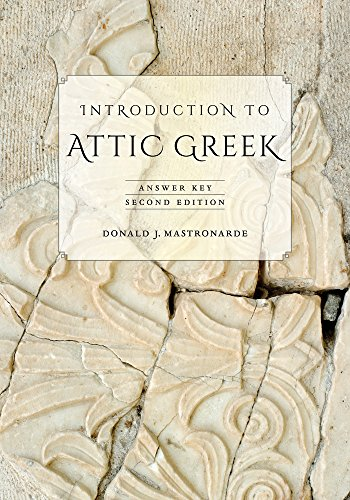 9780520275744: Introduction to Attic Greek: Answer Key