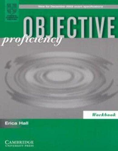 9780521000338: Objective Proficiency Workbook with answers
