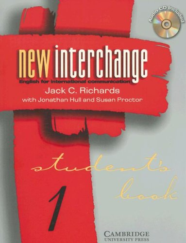 9780521000574: New Interchange Level 1 Student's Book/CD 1 Bundle (New Interchange English for International Communication)