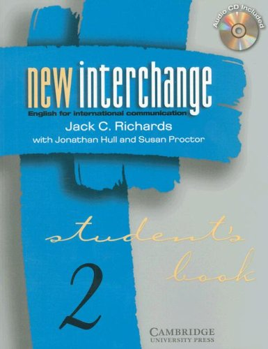 9780521000598: New Interchange Student's Book/CD 2 Bundle