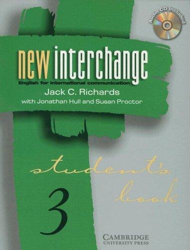 9780521000604: New Interchange Student's Book/CD 3 Bundle (New Interchange English for International Communication)