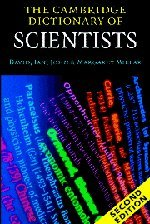 9780521000628: The Cambridge Dictionary of Scientists