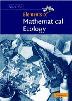 9780521001502: Elements of Mathematical Ecology