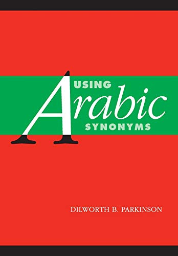 9780521001762: Using Arabic Synonyms