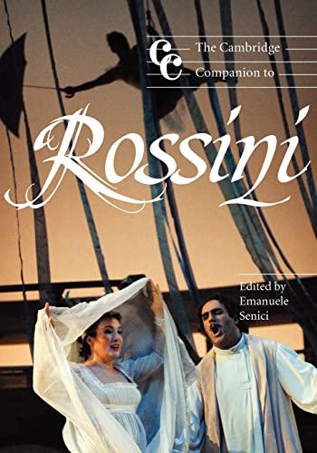 9780521001953: The Cambridge Companion to Rossini (Cambridge Companions to Music)