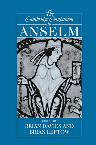 9780521002059: The Cambridge Companion to Anselm