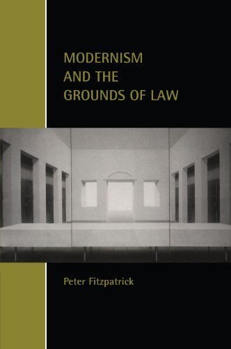 9780521002530: Modernism and the Grounds of Law (Cambridge Studies in Law and Society)