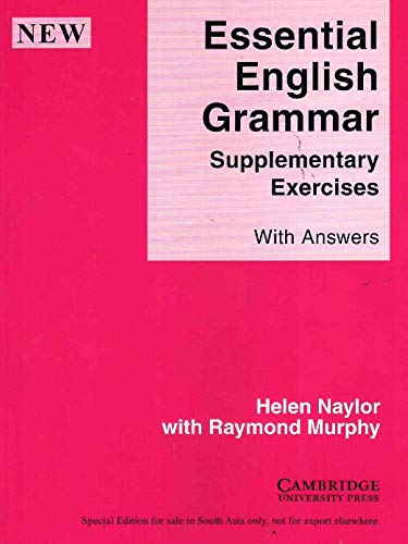 9780521002684: Essential English Grammar - Supplementary Exercises Indian edition