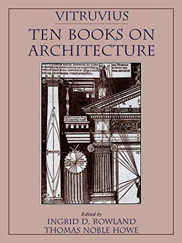 9780521002929: Vitruvius: 'Ten Books on Architecture'