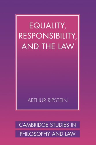 9780521003070: Equality, Responsibility, and the Law (Cambridge Studies in Philosophy and Law)