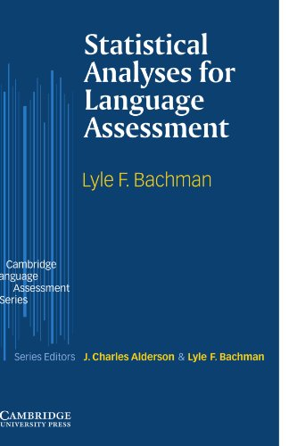 9780521003285: Statistical Analyses for Language Assessment (Cambridge Language Assessment)