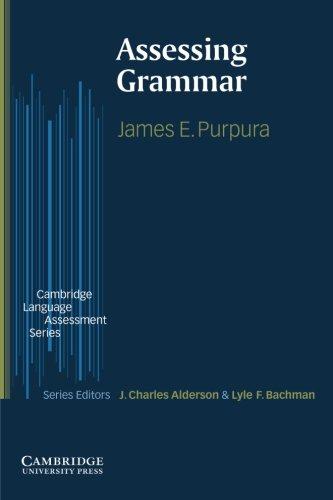 9780521003445: Assessing Grammar (Cambridge Language Assessment)