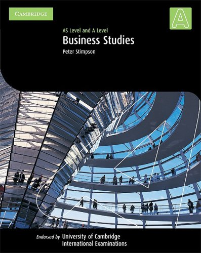 9780521003674: Cambridge International AS and A Level Business Studies Student's Coursebook (Cambridge International Examinations)