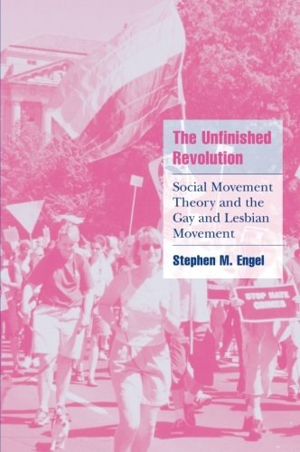 9780521003773: The Unfinished Revolution: Social Movement Theory and the Gay and Lesbian Movement (Cambridge Cultural Social Studies)