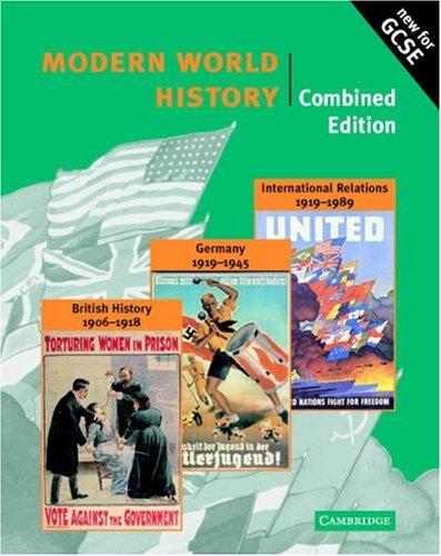 9780521003841: Modern World History Combined edition (Cambridge History Programme Key Stage 4)