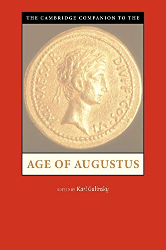 9780521003933: The Cambridge Companion to the Age of Augustus (Cambridge Companions to the Ancient World)