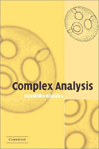9780521003988: Complex Analysis (Cambridge Studies in Advanced Mathematics)