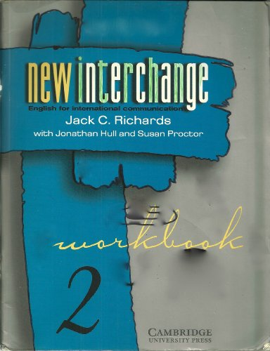 New Interchange 2 Workbook CISL Edition: English for International Communication