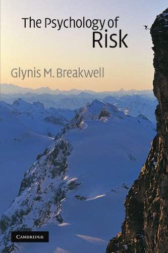 9780521004459: The Psychology of Risk