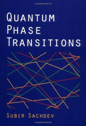 9780521004541: Quantum Phase Transitions