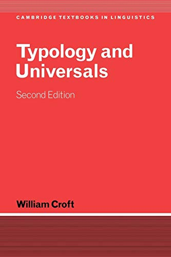 9780521004992: Typology and Universals