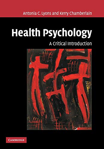 9780521005265: Health Psychology: A Critical Introduction
