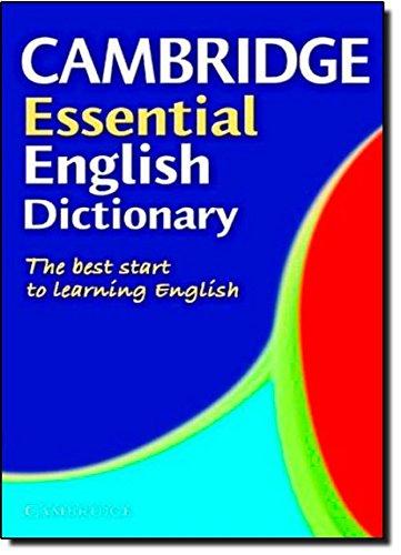 9780521005371: Cambridge essential english dictionary