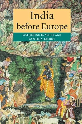 9780521005395: India before Europe