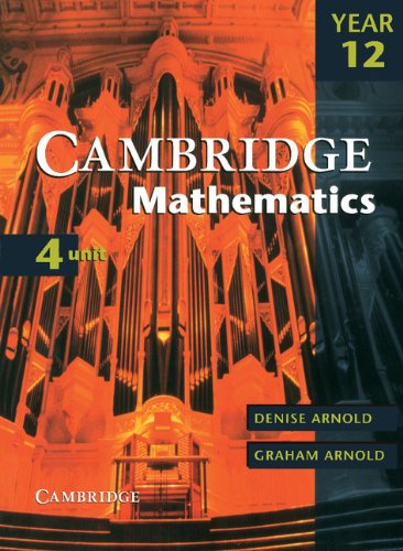 9780521005470: Cambridge 4 Unit Mathematics Year 12