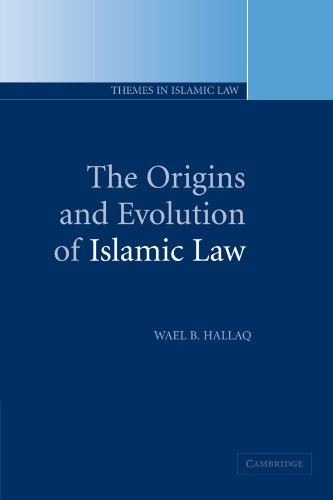9780521005807: The Origins and Evolution of Islamic Law