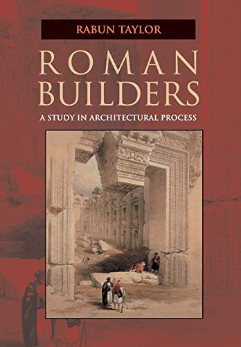 9780521005838: Roman Builders: A Study in Architectural Process