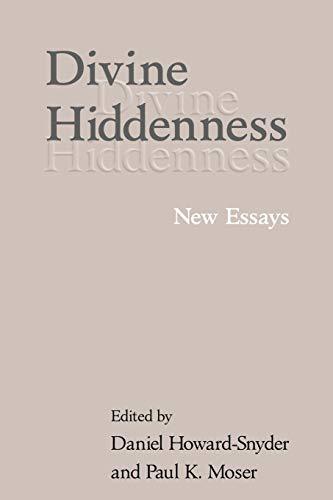 9780521006101: Divine Hiddenness: New Essays