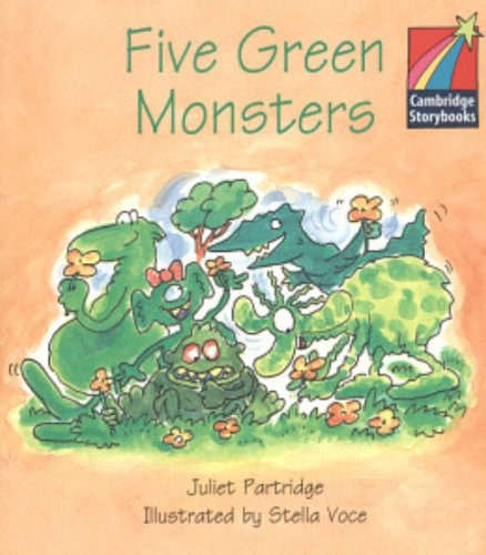 9780521006743: CS1: Five Green Monsters ELT Edition (Cambridge Storybooks)