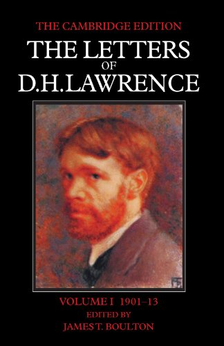 9780521006910: The Letters of D. H. Lawrence 8 Volume Paperback Set: The Letters of D. H. Lawrence: Volume I 1901-13: Volume 1 (The Cambridge Edition of the Letters of D. H. Lawrence)