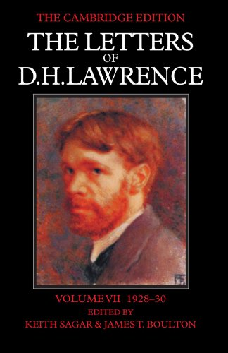 9780521006996: The Letters of D. H. Lawrence (The Cambridge Edition of the Letters of D. H. Lawrence) (Volume 7)