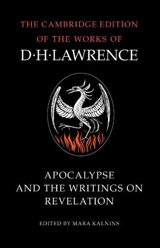 9780521007061: Apocalypse and the Writings on Revelation (The Cambridge Edition of the Works of D. H. Lawrence)