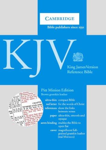 9780521007467: KJV Pitt Minion Reference Edition, R186 Brown Goatskin Leather R186 Brown Goatskin Leather