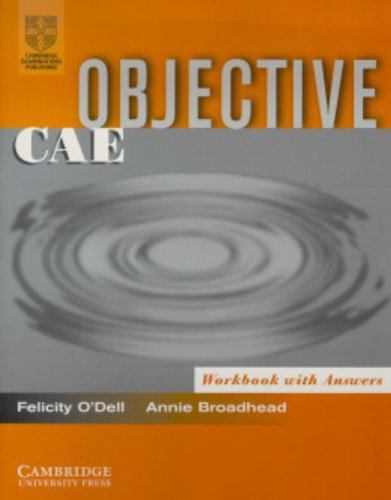 9780521007870: Objective CAE Workbook with Answers
