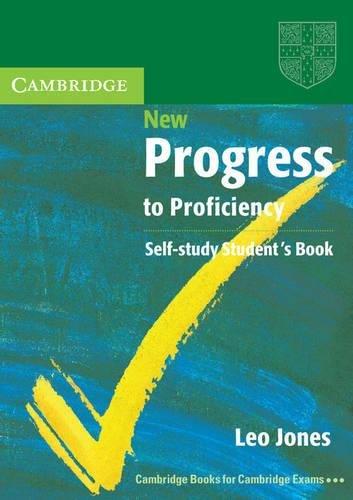 9780521007894: New Progress to Proficiency Self-Study Student's Book