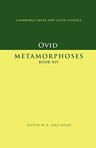9780521007931: Ovid: Metamorphoses Book XIV